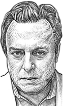Christopher Hitchens portrait / Happy Hitchmas / December 15